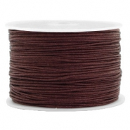 Fil macramé 1.0mm marron fauve
