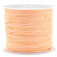 Fil macramé 0.8mm orange abricot