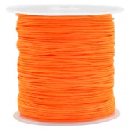 Fil macramé 0.8mm orange néon