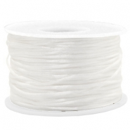 Fil macramé satin 1.5mm Blanc