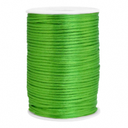 Cordon satin 2.5mm Vert printemps
