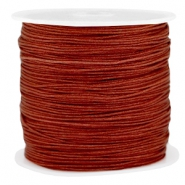 Fil macramé 0.8mm granade marron