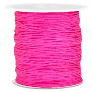 Fil macramé 1.0mm rose hot