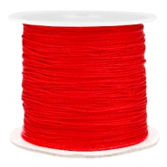Fil macramé 0.7mm rouge fiery