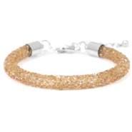 Bracelets Crystal Diamond 7mm topaze fumée