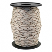 Paracord rond 4mm beige-marron